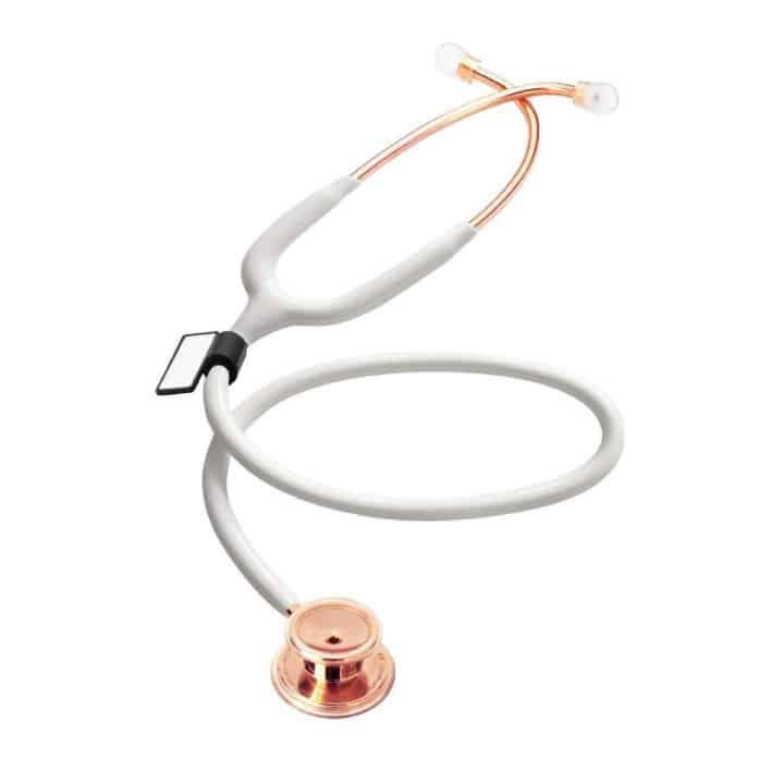 MDF One Premium stetoskopas rožinio aukso